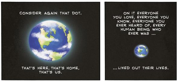 Carl Sagan: The Pale Blue Dot