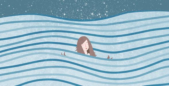 30 Days 2 Podcast: Language, Full Moon Swim, Float Tank