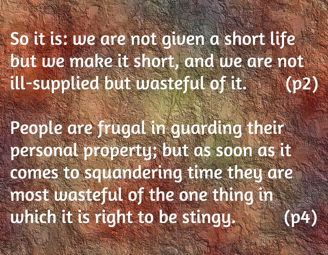 Seneca On The Shortness Of Life Quotes Best Life Quotes In Hd Images