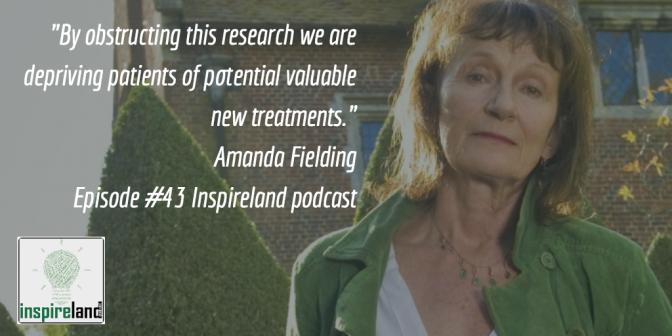 E43 Amanda Fielding: Psychedelics Advocate